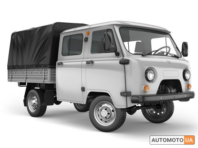 Серый УАЗ 39095, объемом двигателя 2.69 л и пробегом 0 тыс. км за 17327 $, фото 1 на Automoto.ua