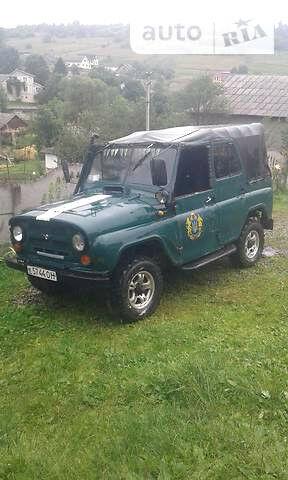 Зелений УАЗ 469, об'ємом двигуна 3 л та пробігом 234 тис. км за 2000 $, фото 1 на Automoto.ua