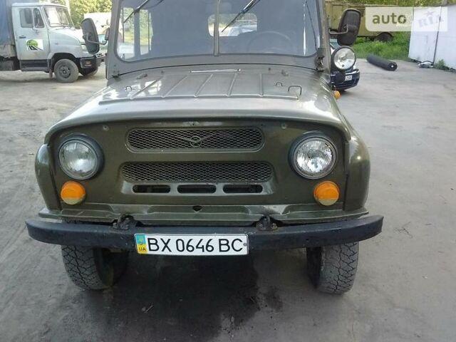 Зелений УАЗ 469, об'ємом двигуна 2.4 л та пробігом 50 тис. км за 3500 $, фото 1 на Automoto.ua