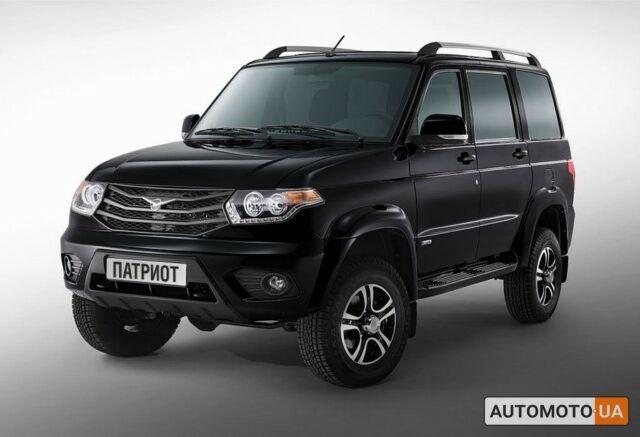 Черный УАЗ Патриот, объемом двигателя 2.7 л и пробегом 0 тыс. км за 24609 $, фото 1 на Automoto.ua