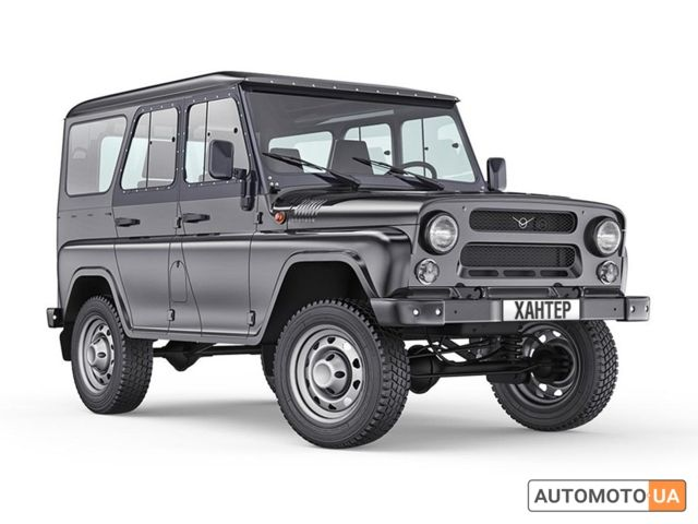 Чорний УАЗ Хантер, об'ємом двигуна 2.7 л та пробігом 0 тис. км за 16934 $, фото 1 на Automoto.ua