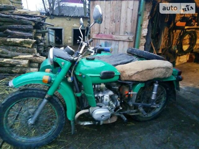 Зеленый Урал К-750, объемом двигателя 0 л и пробегом 5 тыс. км за 340 $, фото 1 на Automoto.ua