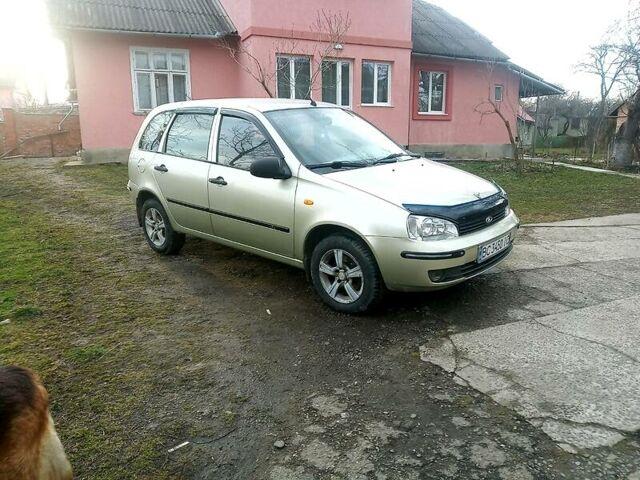 Зеленый ВАЗ 1117, объемом двигателя 1.6 л и пробегом 157 тыс. км за 3450 $, фото 1 на Automoto.ua