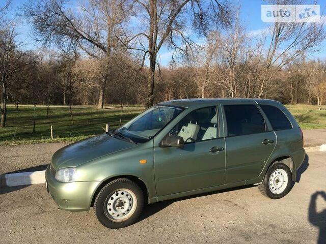 Зелений ВАЗ 1117, об'ємом двигуна 1.4 л та пробігом 177 тис. км за 4500 $, фото 1 на Automoto.ua