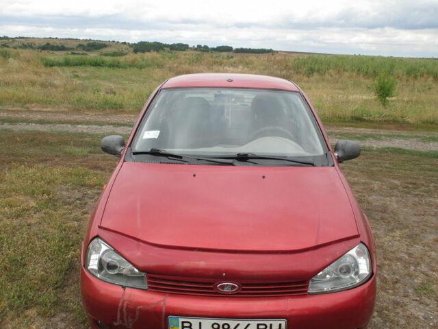 Красный ВАЗ 1118, объемом двигателя 1.6 л и пробегом 240 тыс. км за 2200 $, фото 1 на Automoto.ua