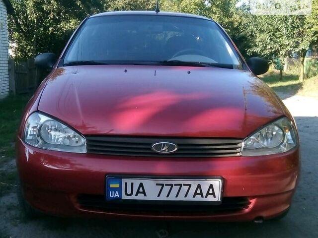 Красный ВАЗ 1118, объемом двигателя 1.6 л и пробегом 140 тыс. км за 2900 $, фото 1 на Automoto.ua