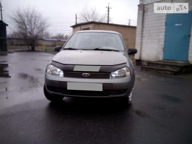 Серый ВАЗ 1118, объемом двигателя 1.6 л и пробегом 206 тыс. км за 2999 $, фото 1 на Automoto.ua