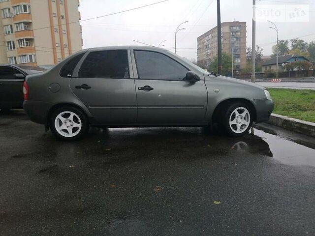 Серый ВАЗ 1118, объемом двигателя 1.6 л и пробегом 127 тыс. км за 3700 $, фото 1 на Automoto.ua