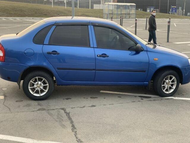 Синій ВАЗ 1118, об'ємом двигуна 1.6 л та пробігом 1 тис. км за 3900 $, фото 1 на Automoto.ua