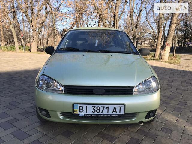 Зелений ВАЗ 1118, об'ємом двигуна 1.6 л та пробігом 160 тис. км за 2550 $, фото 1 на Automoto.ua