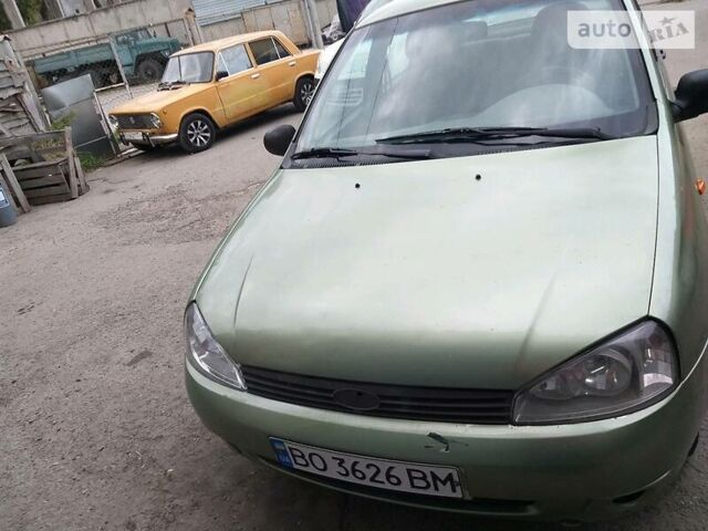 Зеленый ВАЗ 1118, объемом двигателя 1.6 л и пробегом 234 тыс. км за 1850 $, фото 1 на Automoto.ua