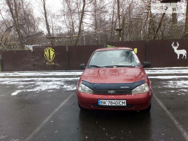 Красный ВАЗ 1119, объемом двигателя 1.6 л и пробегом 76 тыс. км за 3500 $, фото 1 на Automoto.ua
