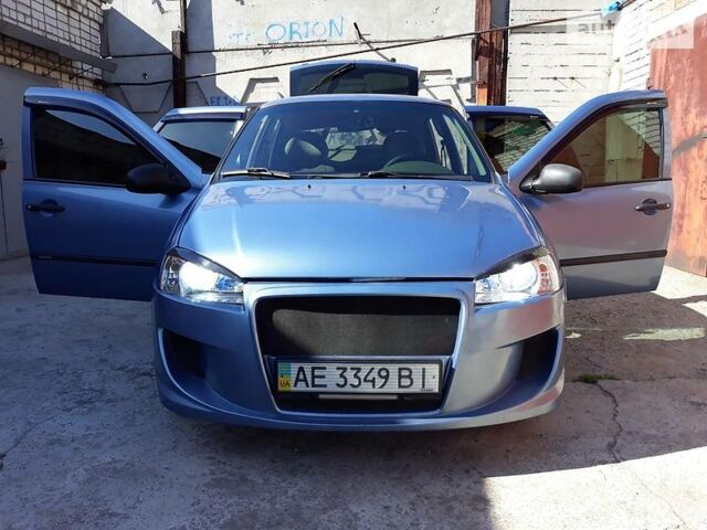 Синий ВАЗ 1119, объемом двигателя 1.6 л и пробегом 57 тыс. км за 3750 $, фото 1 на Automoto.ua