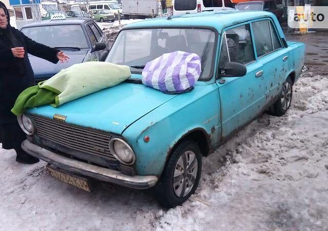 Голубой ВАЗ 2101, объемом двигателя 1.3 л и пробегом 100 тыс. км за 438 $, фото 1 на Automoto.ua