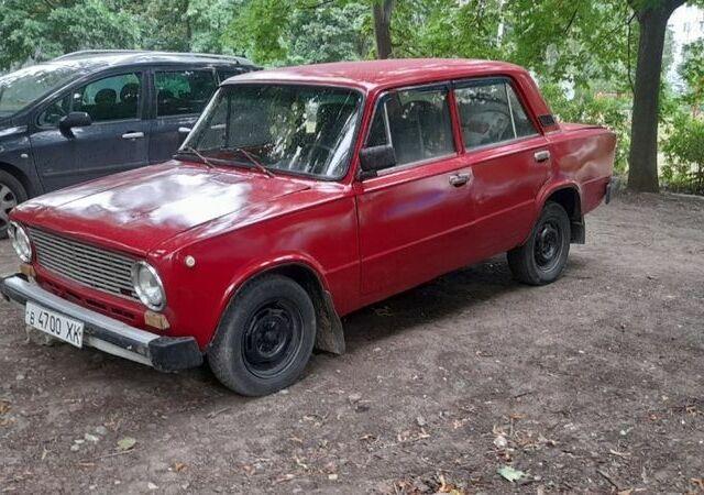 Красный ВАЗ 2101, объемом двигателя 1.2 л и пробегом 10 тыс. км за 650 $, фото 1 на Automoto.ua