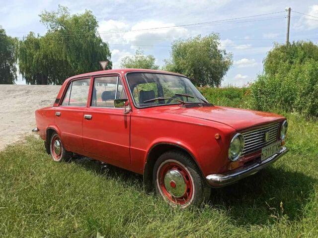 Красный ВАЗ 2101, объемом двигателя 1.6 л и пробегом 158 тыс. км за 1228 $, фото 1 на Automoto.ua