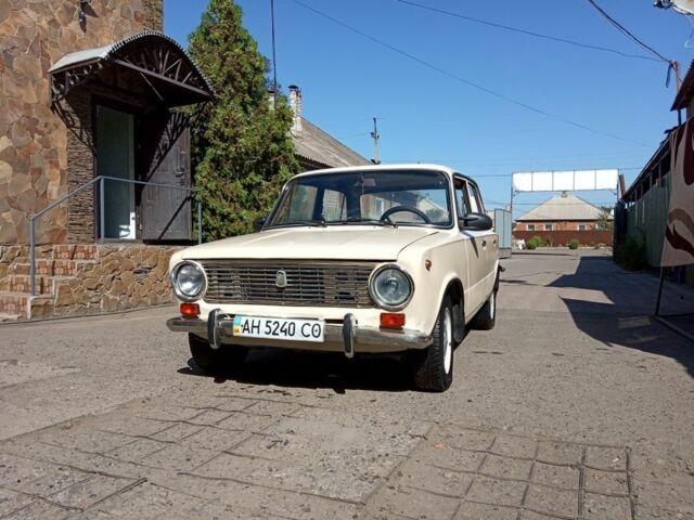 Оливковый ВАЗ 2101, объемом двигателя 1.3 л и пробегом 92 тыс. км за 700 $, фото 1 на Automoto.ua