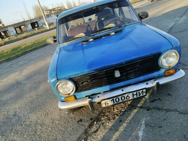 Синий ВАЗ 2101, объемом двигателя 1.2 л и пробегом 44 тыс. км за 750 $, фото 1 на Automoto.ua