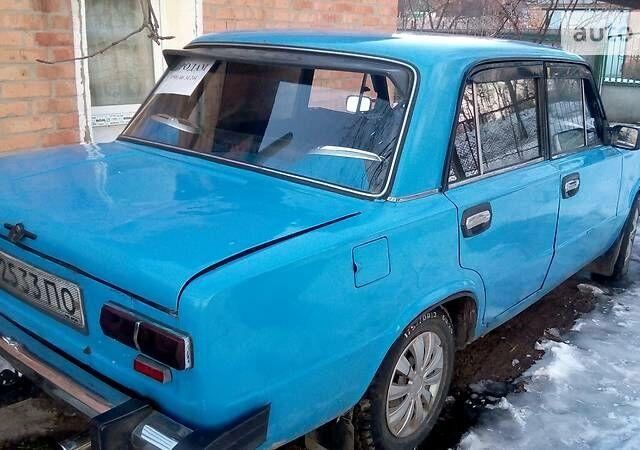 Синий ВАЗ 2101, объемом двигателя 1.6 л и пробегом 1 тыс. км за 742 $, фото 1 на Automoto.ua