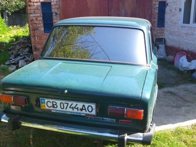 Зеленый ВАЗ 2101, объемом двигателя 1.2 л и пробегом 100 тыс. км за 675 $, фото 1 на Automoto.ua