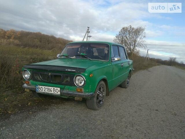 Зеленый ВАЗ 2101, объемом двигателя 1.3 л и пробегом 130 тыс. км за 900 $, фото 1 на Automoto.ua