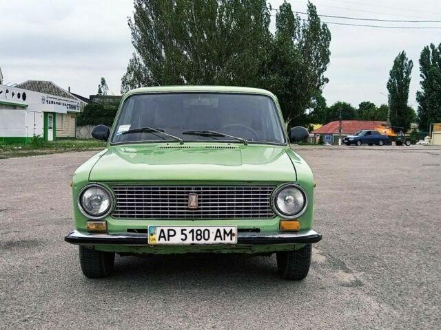Зеленый ВАЗ 2101, объемом двигателя 1.3 л и пробегом 31 тыс. км за 1000 $, фото 1 на Automoto.ua