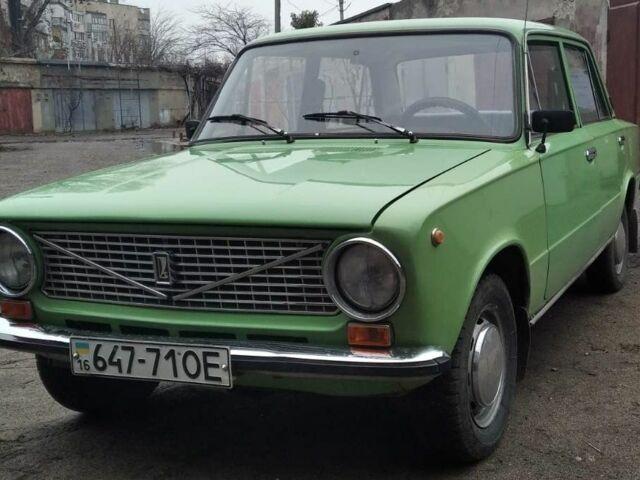 Зеленый ВАЗ 2101, объемом двигателя 1.2 л и пробегом 106 тыс. км за 1500 $, фото 1 на Automoto.ua