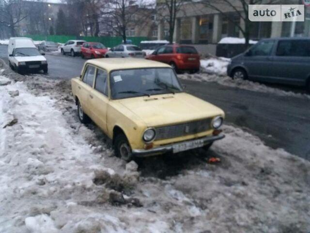 Желтый ВАЗ 2101, объемом двигателя 1.3 л и пробегом 88 тыс. км за 450 $, фото 1 на Automoto.ua