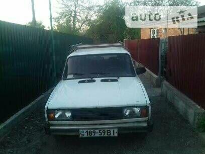 Белый ВАЗ 2104, объемом двигателя 1.5 л и пробегом 100 тыс. км за 1500 $, фото 1 на Automoto.ua