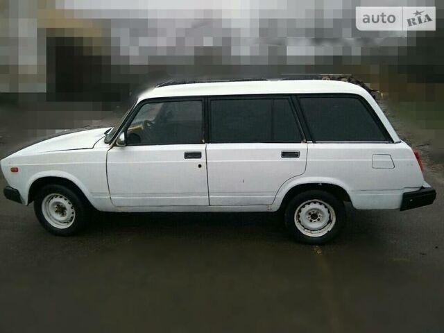 Белый ВАЗ 2104, объемом двигателя 1.5 л и пробегом 70 тыс. км за 1100 $, фото 1 на Automoto.ua