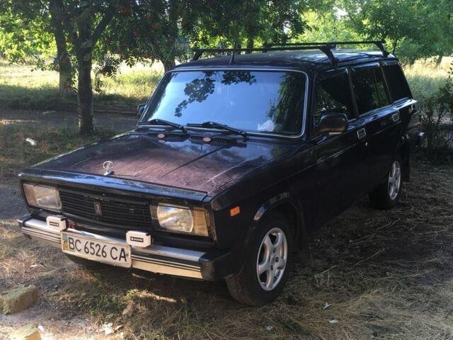 Фиолетовый ВАЗ 2104, объемом двигателя 1.5 л и пробегом 1 тыс. км за 1450 $, фото 1 на Automoto.ua