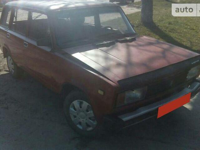 Красный ВАЗ 2104, объемом двигателя 1.3 л и пробегом 150 тыс. км за 530 $, фото 1 на Automoto.ua