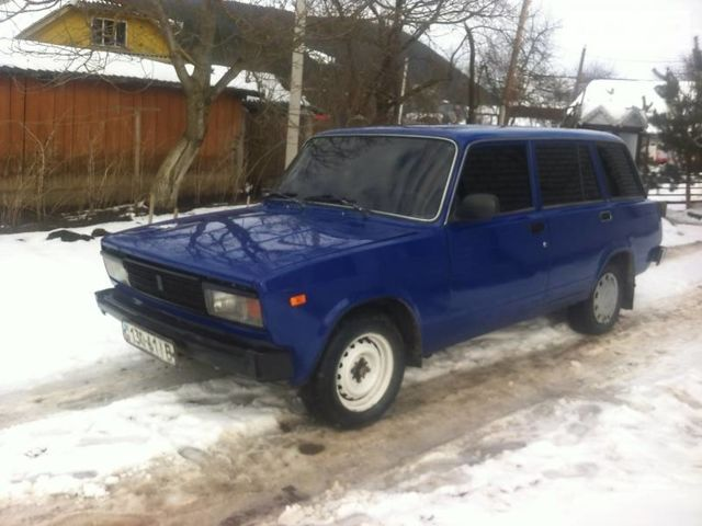 Синий ВАЗ 2104, объемом двигателя 1.5 л и пробегом 100 тыс. км за 1000 $, фото 1 на Automoto.ua