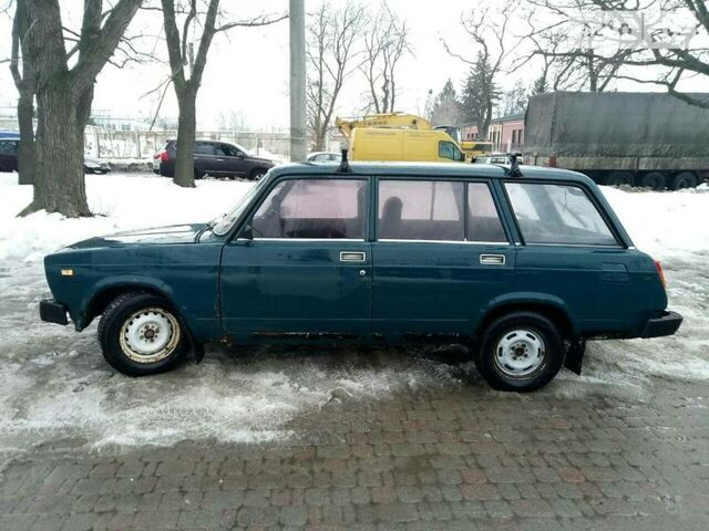 Зеленый ВАЗ 2104, объемом двигателя 1.5 л и пробегом 23 тыс. км за 1250 $, фото 1 на Automoto.ua