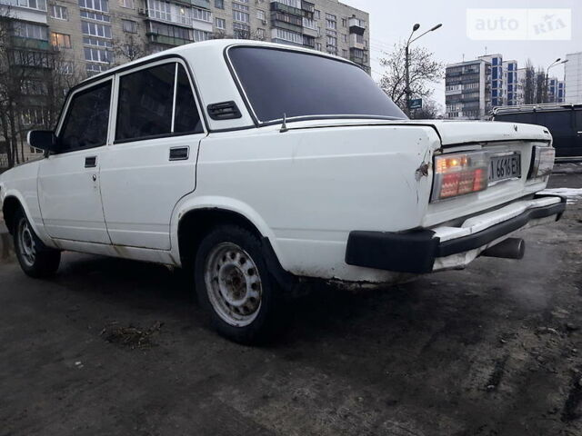 Белый ВАЗ 2105, объемом двигателя 1.3 л и пробегом 79 тыс. км за 770 $, фото 1 на Automoto.ua