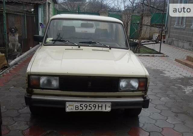 Бежевий ВАЗ 2105, об'ємом двигуна 1.5 л та пробігом 86 тис. км за 950 $, фото 1 на Automoto.ua