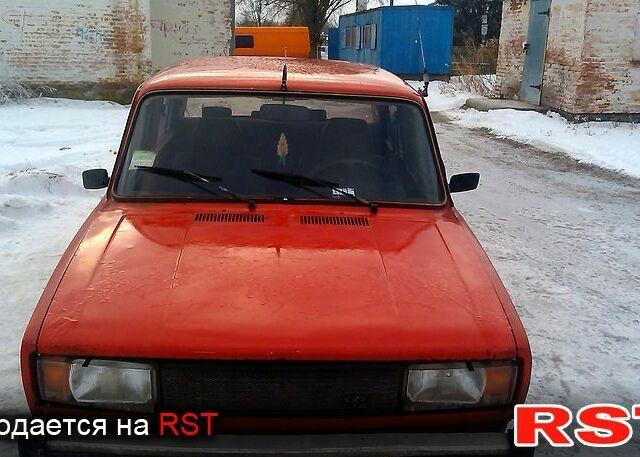 Красный ВАЗ 2105, объемом двигателя 1.1 л и пробегом 78 тыс. км за 800 $, фото 1 на Automoto.ua