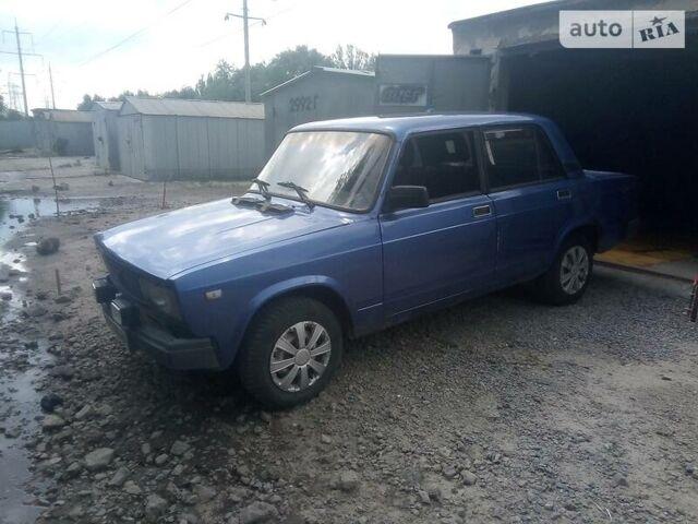 Синий ВАЗ 2105, объемом двигателя 1.6 л и пробегом 89 тыс. км за 797 $, фото 1 на Automoto.ua