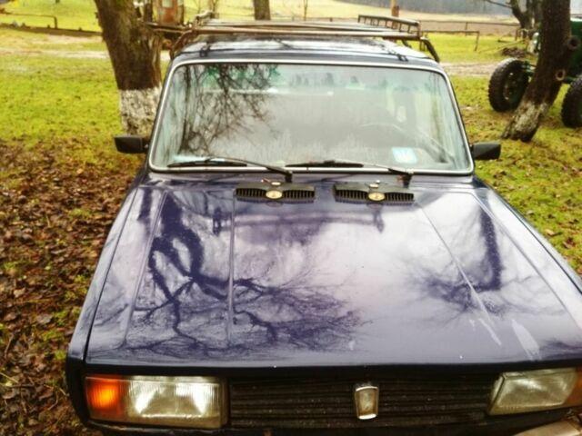 Синий ВАЗ 2105, объемом двигателя 1.3 л и пробегом 30 тыс. км за 1000 $, фото 1 на Automoto.ua
