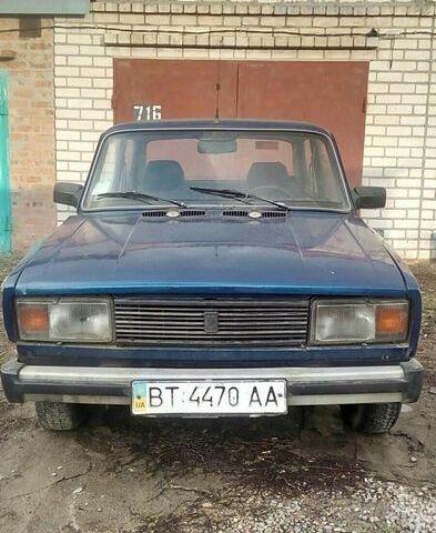 Синий ВАЗ 2105, объемом двигателя 1.3 л и пробегом 1 тыс. км за 800 $, фото 1 на Automoto.ua