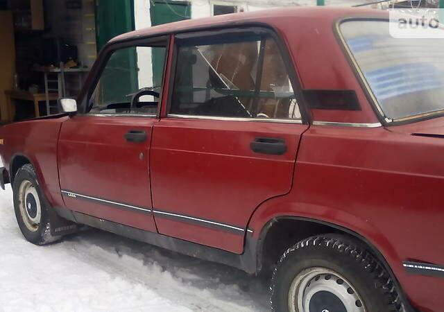 Вишнёвый ВАЗ 2105, объемом двигателя 1.5 л и пробегом 10 тыс. км за 923 $, фото 1 на Automoto.ua
