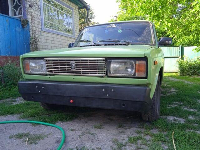 Зеленый ВАЗ 2105, объемом двигателя 1.5 л и пробегом 180 тыс. км за 1050 $, фото 1 на Automoto.ua