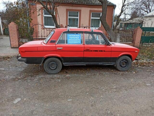 Червоний ВАЗ 2106, об'ємом двигуна 1.3 л та пробігом 1 тис. км за 750 $, фото 1 на Automoto.ua