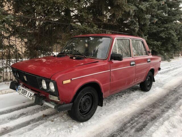 Красный ВАЗ 2106, объемом двигателя 1.3 л и пробегом 75 тыс. км за 867 $, фото 1 на Automoto.ua