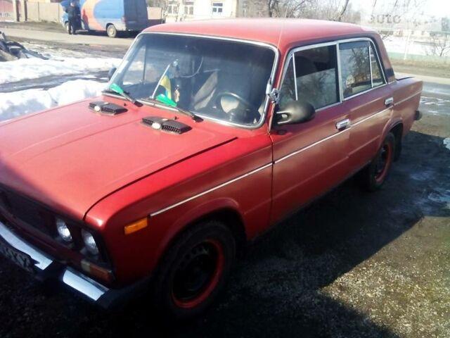 Красный ВАЗ 2106, объемом двигателя 1.3 л и пробегом 52 тыс. км за 1200 $, фото 1 на Automoto.ua