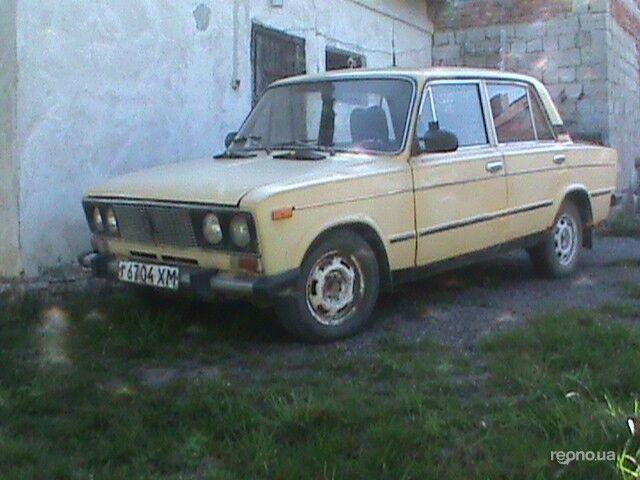 Желтый ВАЗ 2106, объемом двигателя 0 л и пробегом 90 тыс. км за 500 $, фото 1 на Automoto.ua