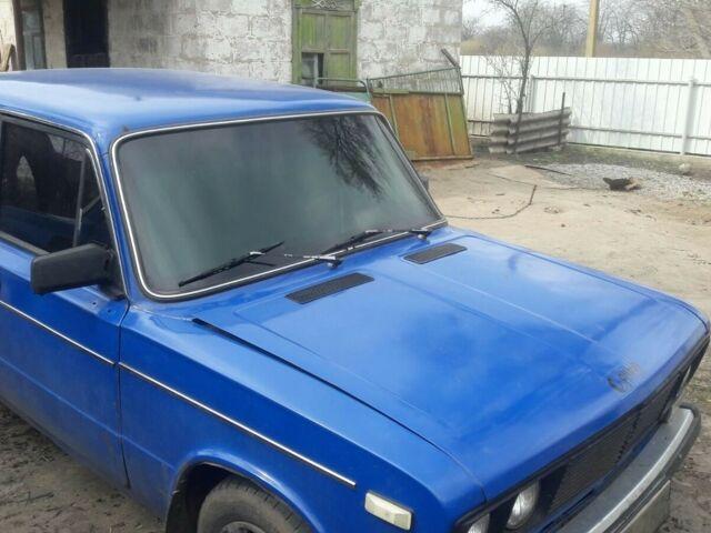 Синий ВАЗ 2106, объемом двигателя 1.5 л и пробегом 22 тыс. км за 777 $, фото 1 на Automoto.ua