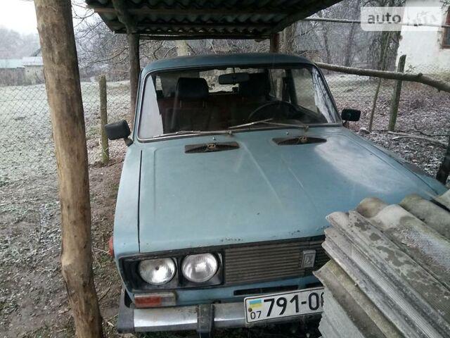 Синий ВАЗ 2106, объемом двигателя 1.3 л и пробегом 60 тыс. км за 650 $, фото 1 на Automoto.ua