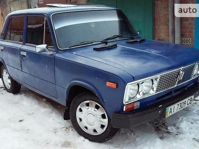 Синий ВАЗ 2106, объемом двигателя 1.6 л и пробегом 43 тыс. км за 1000 $, фото 1 на Automoto.ua
