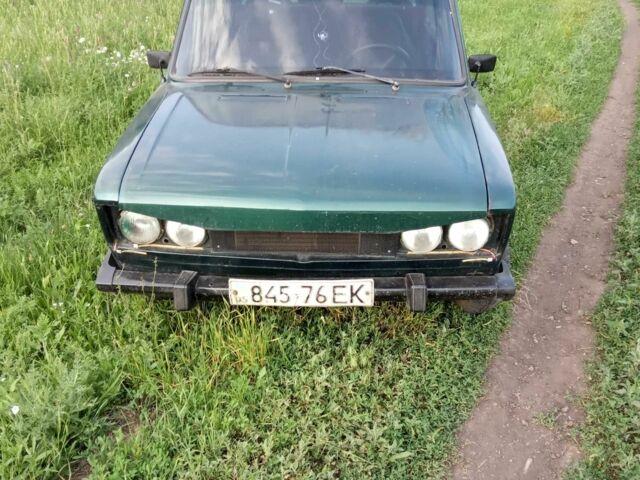 Зеленый ВАЗ 2106, объемом двигателя 1.3 л и пробегом 1 тыс. км за 843 $, фото 1 на Automoto.ua